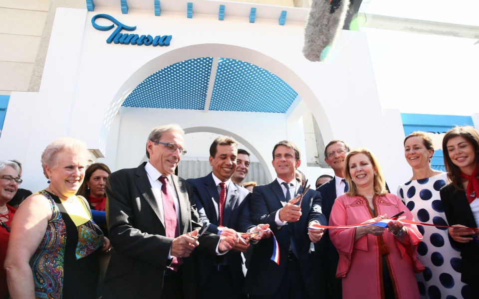 Inauguration de la Foire européenne de Strasbourg
