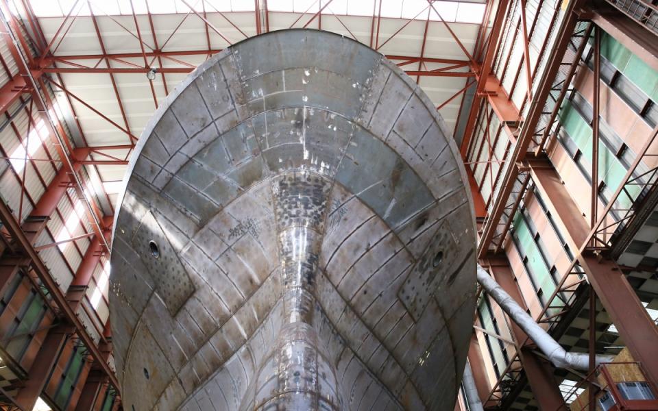 Les chantiers Piriou de Concarneau, un des leaders français de la construction navale civile
