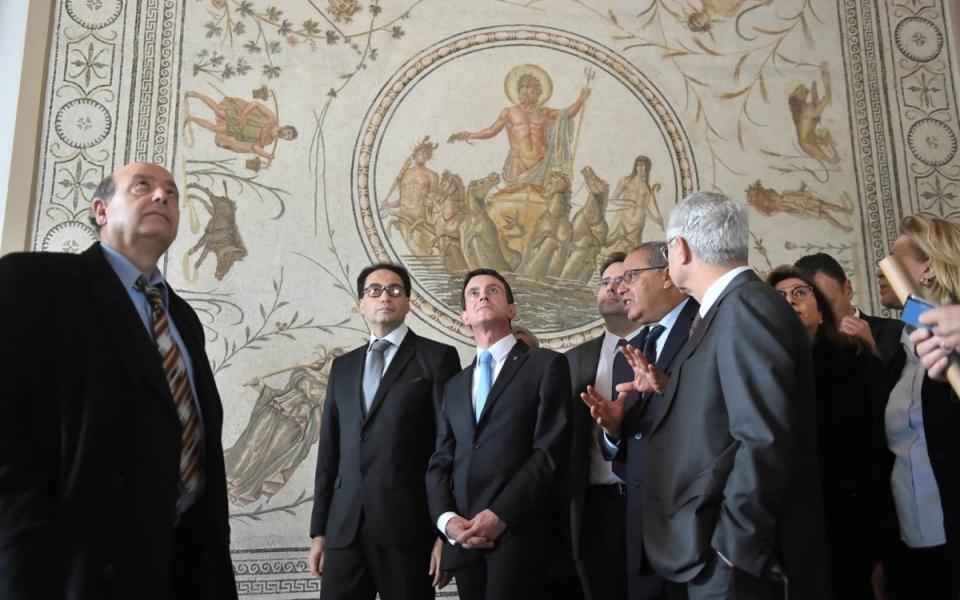 Le Premier ministre au musée du Bardo