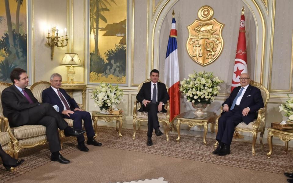 Audience du Président de la République tunisienne, Béji Caïd Essebsi