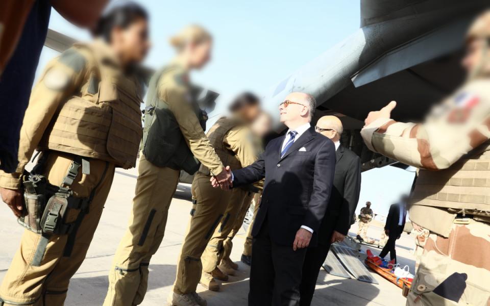 Rencontre avec des soldats de l'opération Barkhane