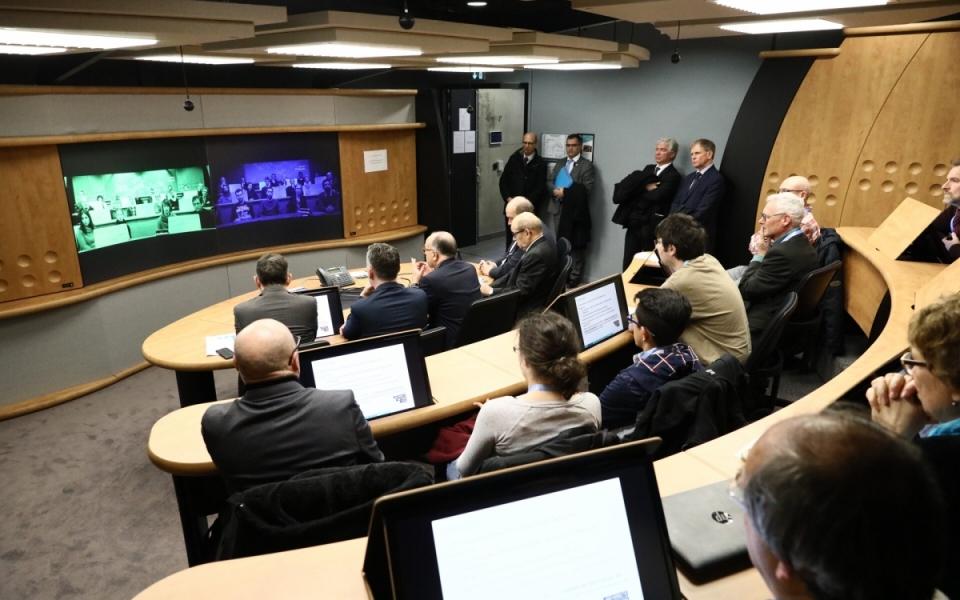 Visite du campus numérique Brest Bouguen et des innovations numériques mises en oeuvre