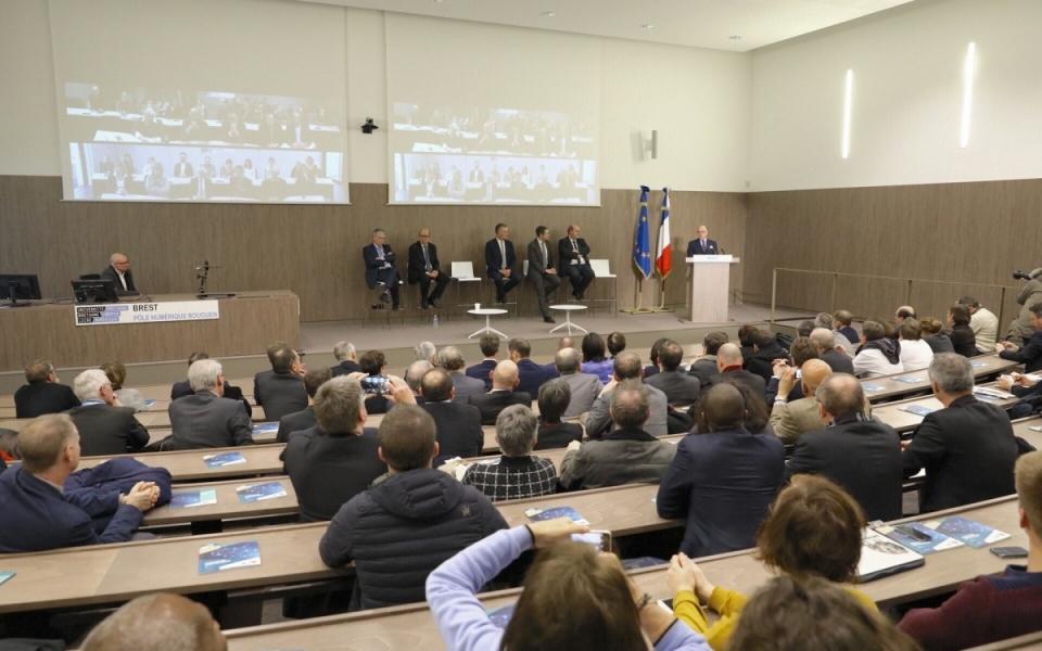 Discours du Premier ministre pour l'inauguration du campus numérique