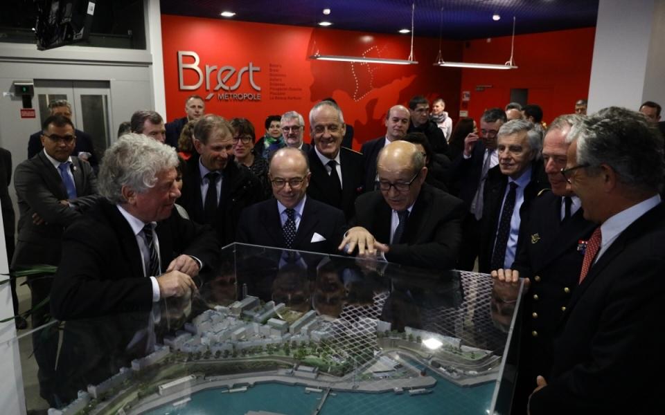 Le Premier ministre au siège de Brest Métropole