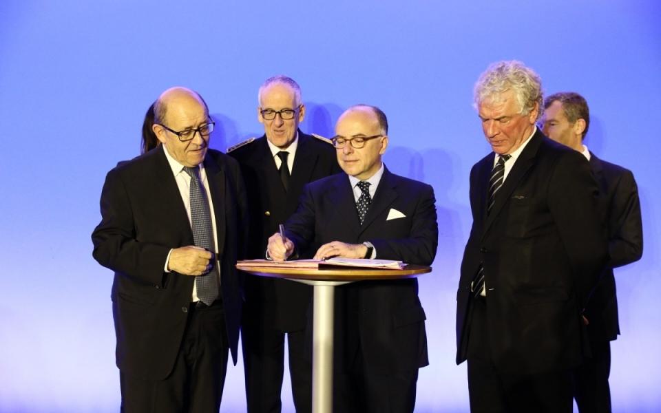 Signature du pacte métropolitain d'innovation de Brest Métropole