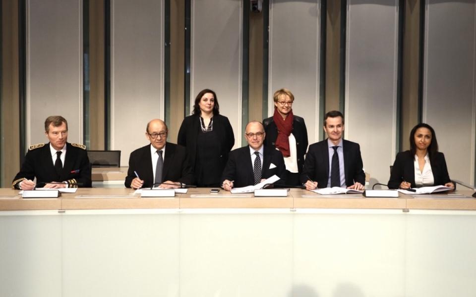 Signature du Pacte métropolitain d'innovation de Rennes Métropole
