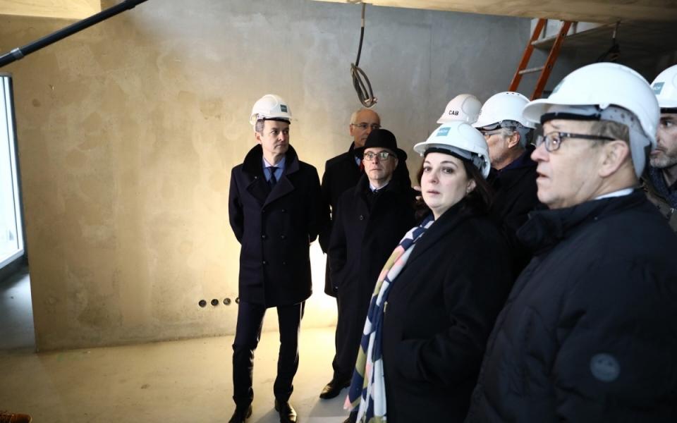 """Visite du chantier """"programme Arch'Immobilier  (logements et commerces)"""""""