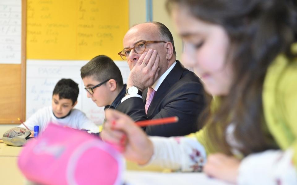 Visite dans une classe de CM2 de l'école primaire Philippe-Arbos