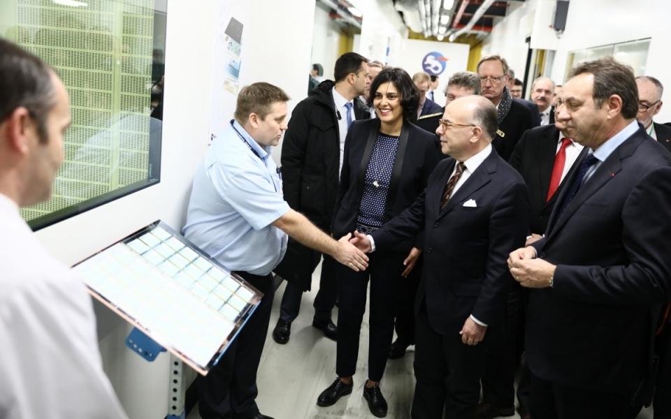 Visite de l'imprimerie nationale
