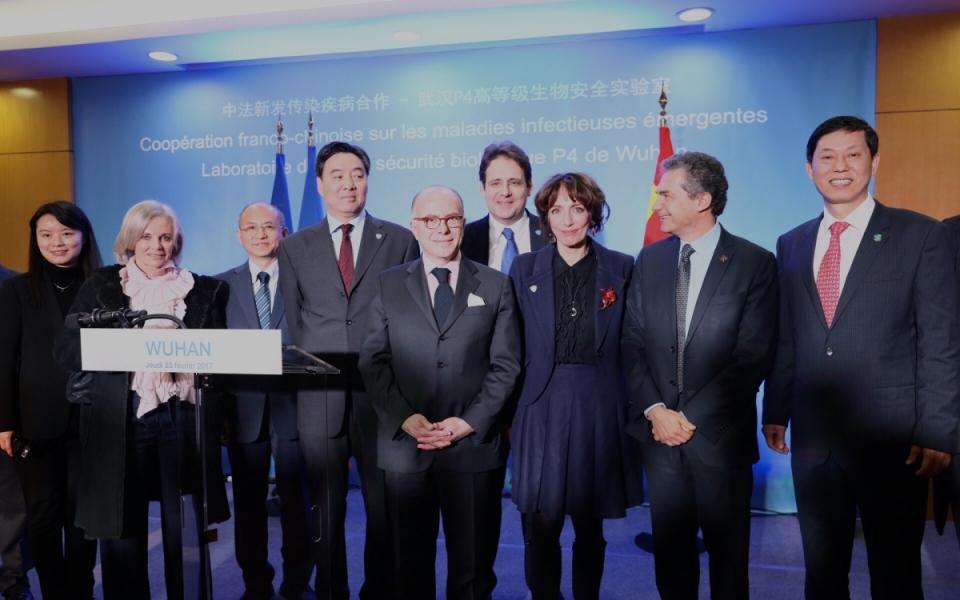 23/02 - Le Premier ministre et la délégation française à Wuhan pour la coopération franco-chinoise sur les maladies infectieuses émergentes