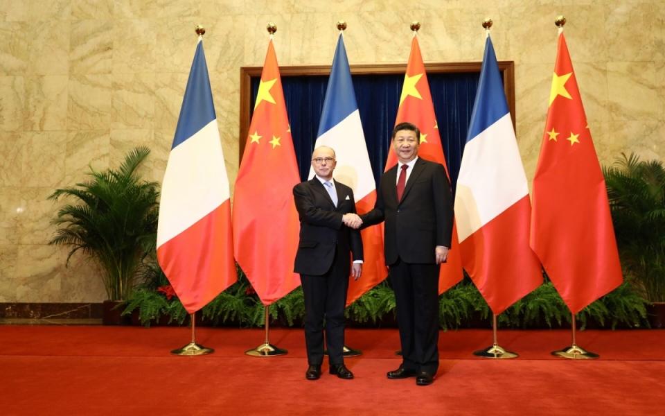 22/02 - Le Premier ministre avec Xi Jinping, président de la République populaire de Chine