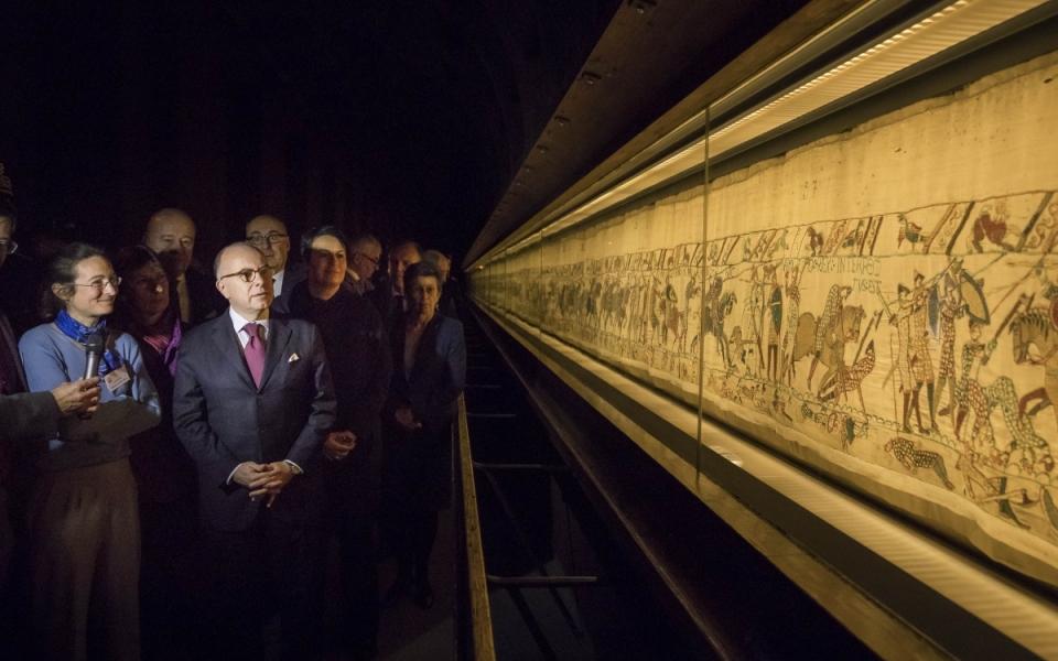 Visite du Musée de la Tapisserie de Bayeux