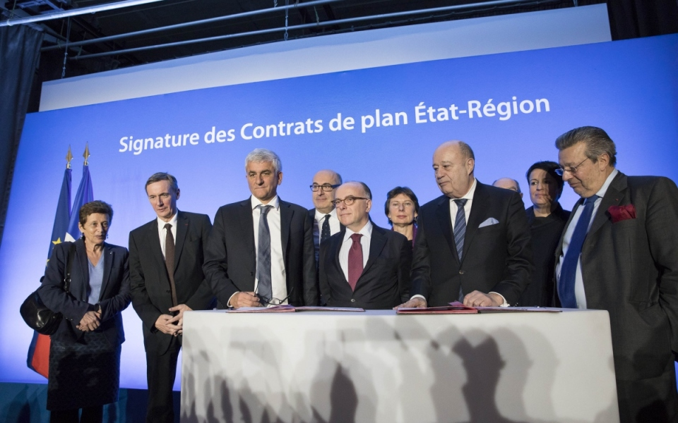 Signature du Contrat de Plan État-Région et du Contrat de Plan Interrégional État-Région à Bayeux