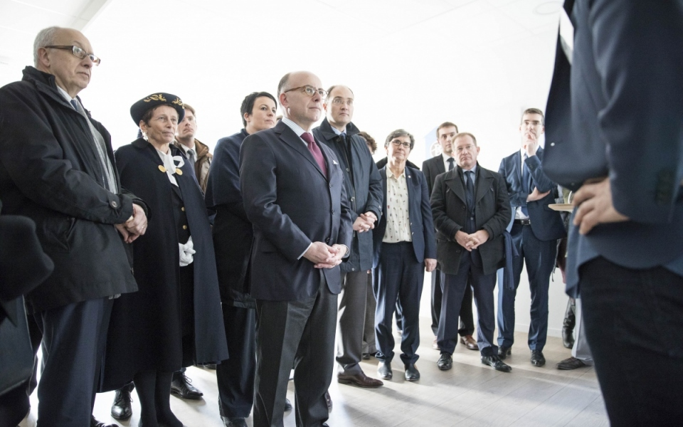 Arrivée du Premier ministre au port de Rouen