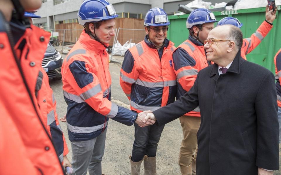 """Rencontre avec les ouvriers du chantier """"Tram-train Massy-Évry"""""""