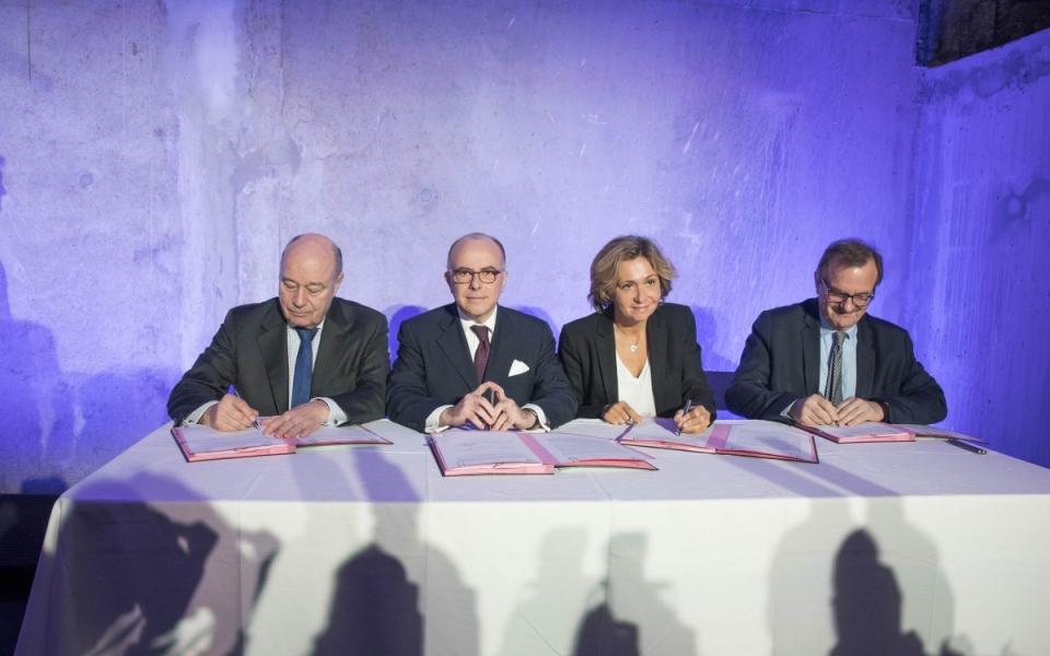 Signature de l'avenant au CPER Île-de-France