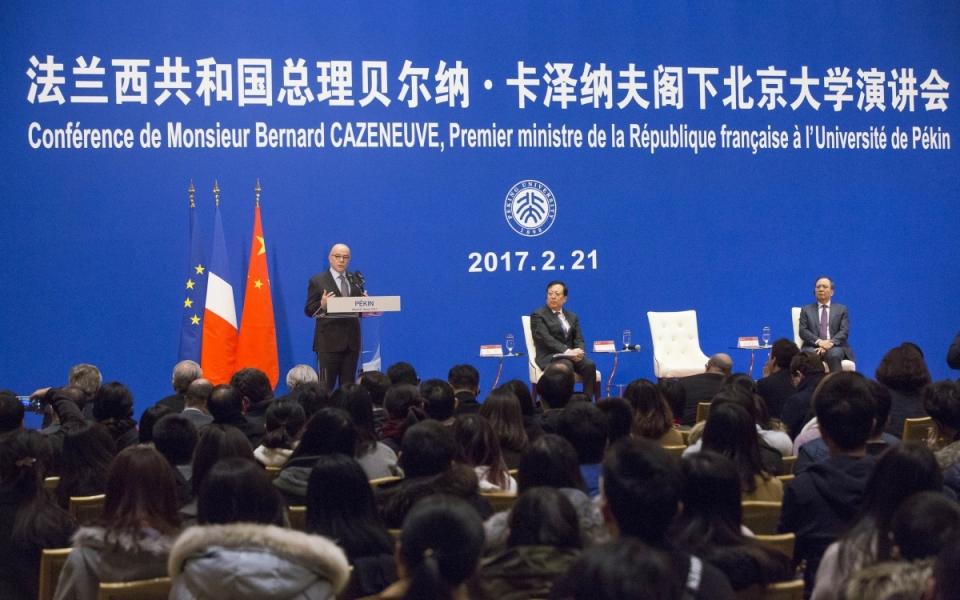 21/02 - Discours du Premier ministre à l'Université de Pékin