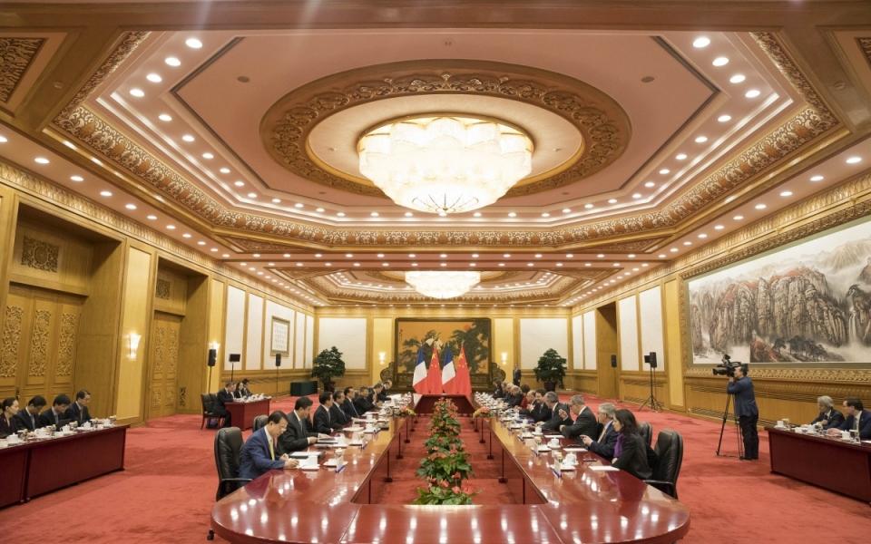 21/02 - Entretien avec Li Keqiang, Premier ministre de la République populaire de Chine