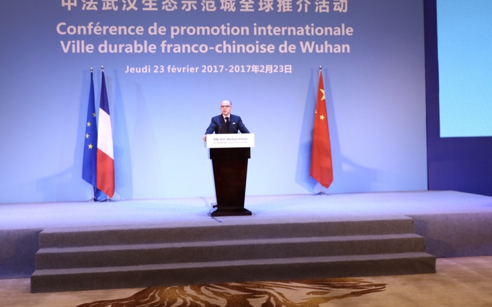 23/02 - Discours du Premier ministre à la conférence de promotion internationale Ville durable franco-chinoise de Wuhan