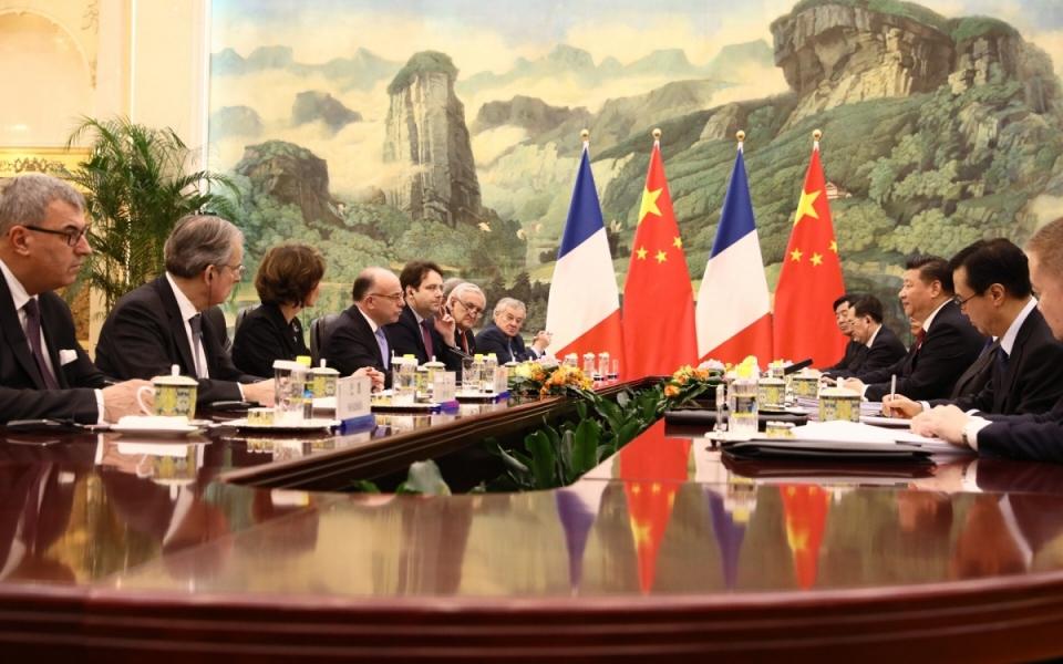 22/02 - Entretien entre le Premier ministre et le président de la République populaire de Chine