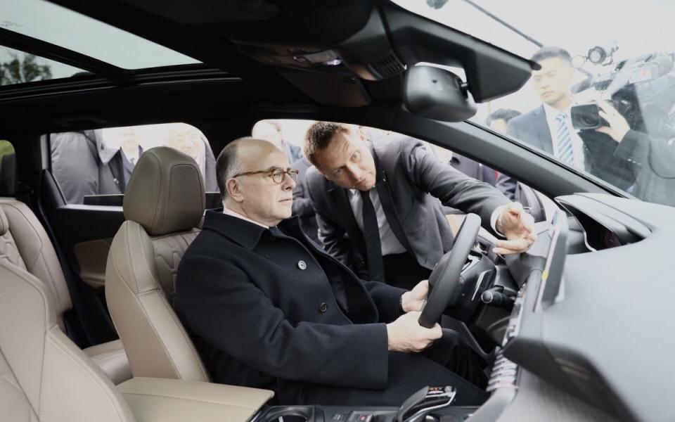 23/02 - Démonstration de véhicules électriques autonomes produits par les groupes PSA-Dongfeng et Renault-Dongfeng