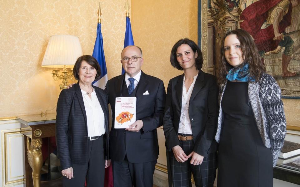Remise du rapport de Christine Lazerges sur la lutte contre le racisme, l'antisémitisme et la xénophobie