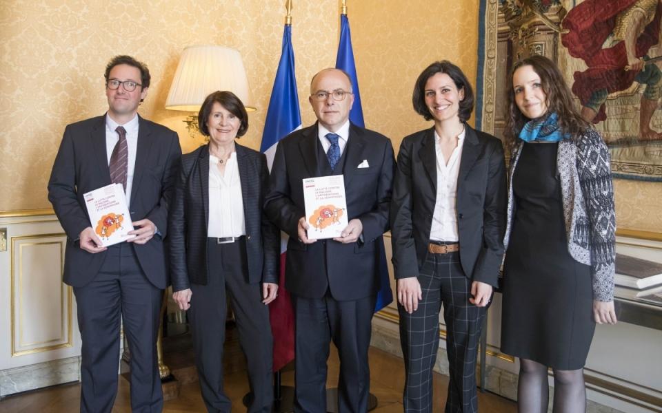 Le Premier ministre reçoit Christine Lazerges pour la remise de son rapport