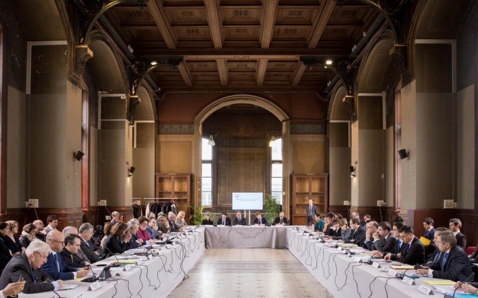 Le Premier ministre participe à la réunion du Conseil national de l'industrie au Cnam à Paris