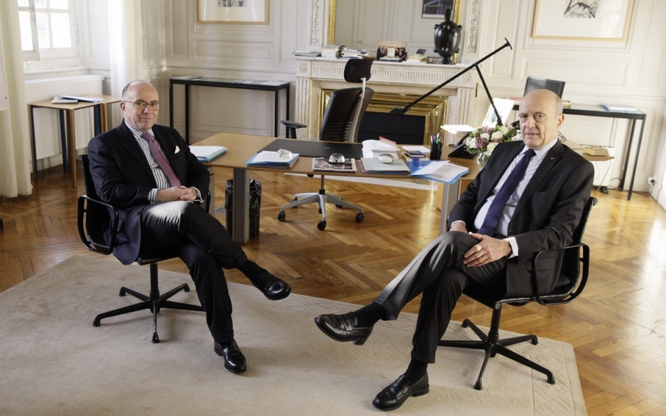 Echange entre le Premier ministre et le maire de Bordeaux, Alain Juppé
