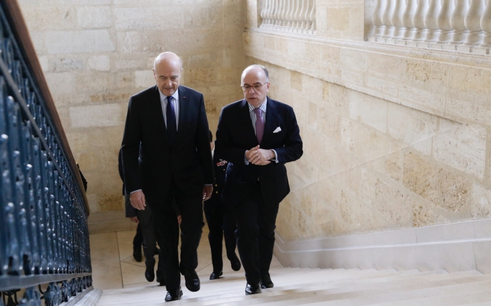 Arrivée du Premier ministre à la résidence préfectorale de Bordeaux
