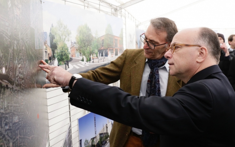 Présentation du projet de la future cité administrative