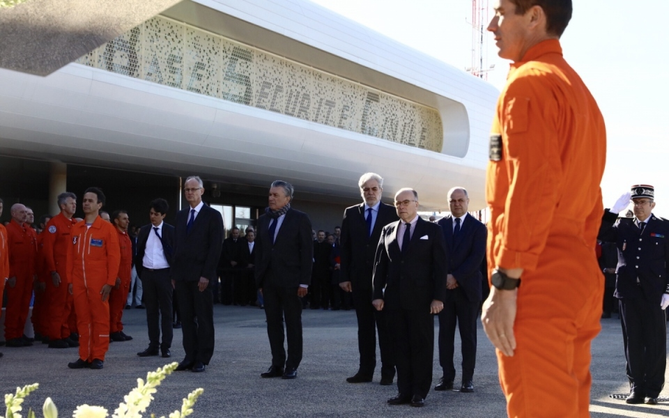 Gard - Le Premier ministre s'est rendu à la nouvelle base d'avions de la sécurité civile (Basc) à Nîmes