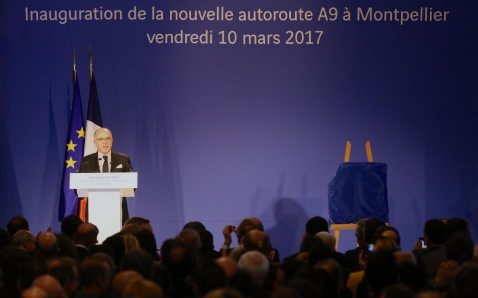 Hérault - Allocution du Premier ministre à l'occasion de la nouvelle autoroute A9 à Montpellier