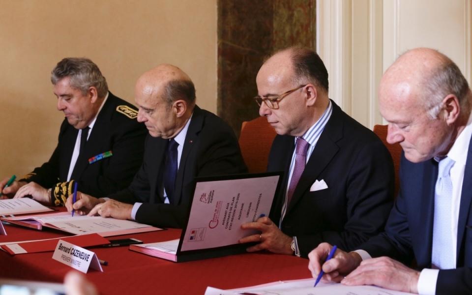 Signatures de l'avenant au Contrat de plan État-région 2015-2020 et du Pacte État-métropoles