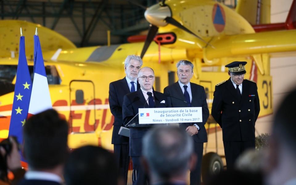 Gard - Allocution du Premier ministre à l'occasion de l'inauguration de la nouvelle Basc à Nîmes