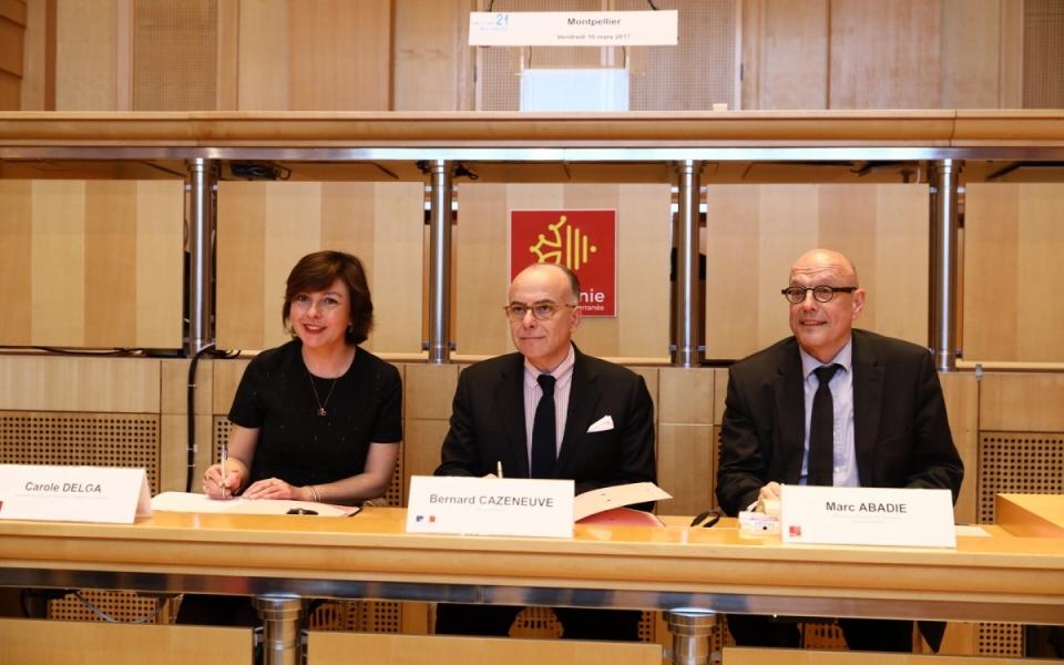 Hérault - Signature d'un accord cadre État-Région – Caisse des dépôts et consignation relatif au Plan Littoral 21
