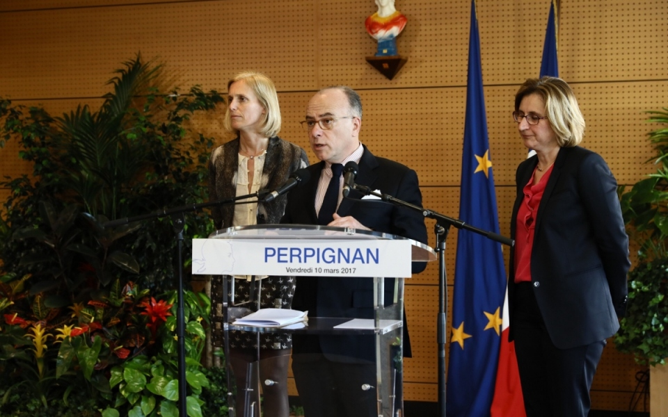 Pyrénées-Orientales - Allocution du Premier ministre à Perpignan