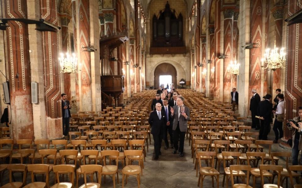 Visite de l'Abbatiale Saint-Austremoine d'Issoire