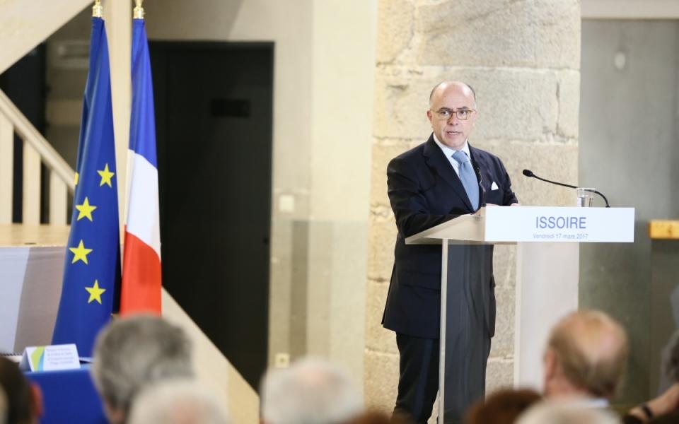 Discours du Premier ministre à Issoire