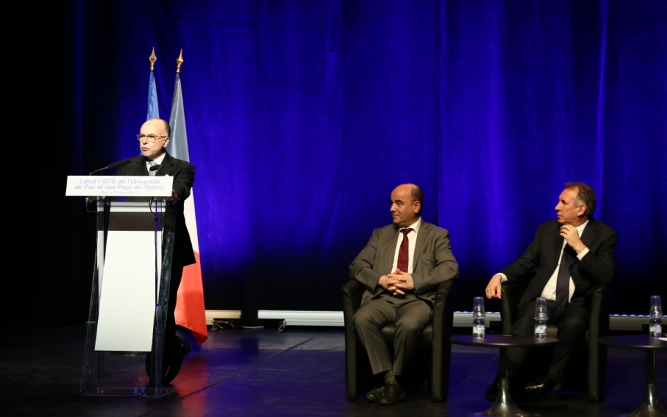 """Discours du Premier ministre à l'occasion de l'obtention du label """"I-SITE"""" par l'UPPA"""
