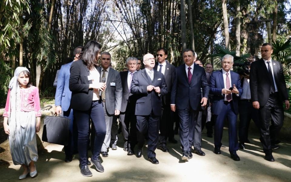 06/04 - Le Premier ministre au Jardin d'Essai