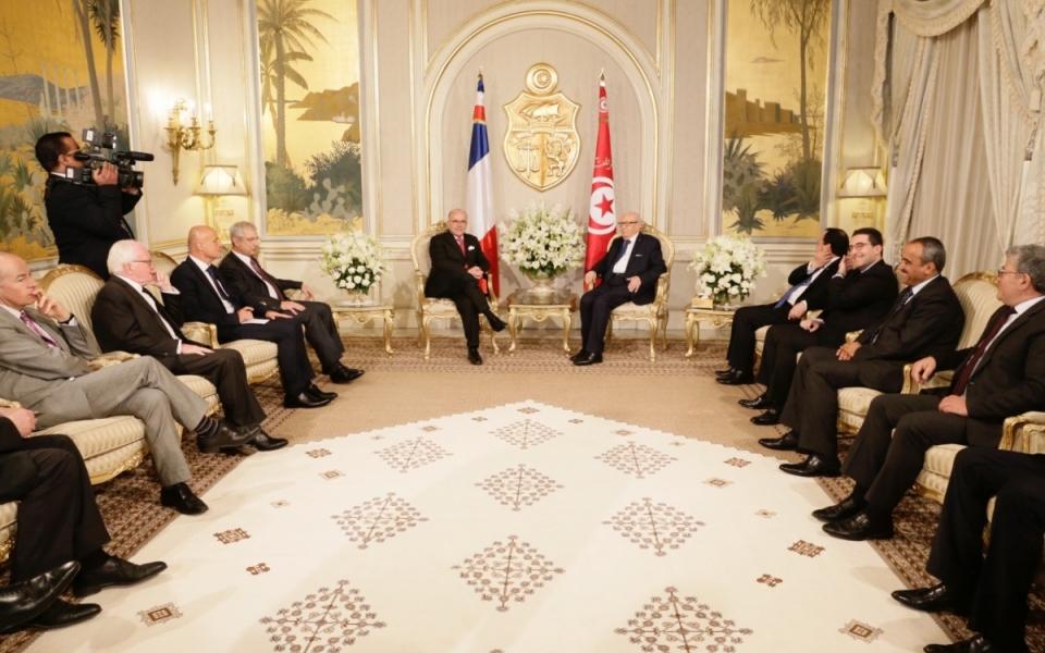 07/04 - Le Premier ministre a rencontré le président de la République tunisienne, Béji Caïd Essebsi