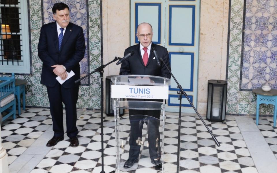 07/04 - Allocution aux côtés du président du Conseil présidentiel et Premier ministre de Lybie, Fayez Al-Sarraj