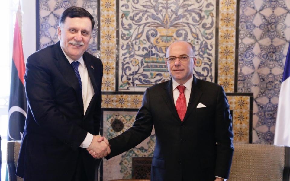 07/04 - Rencontre avec Fayez Al-Sarraj, président du Conseil présidentiel et Premier ministre de Lybie