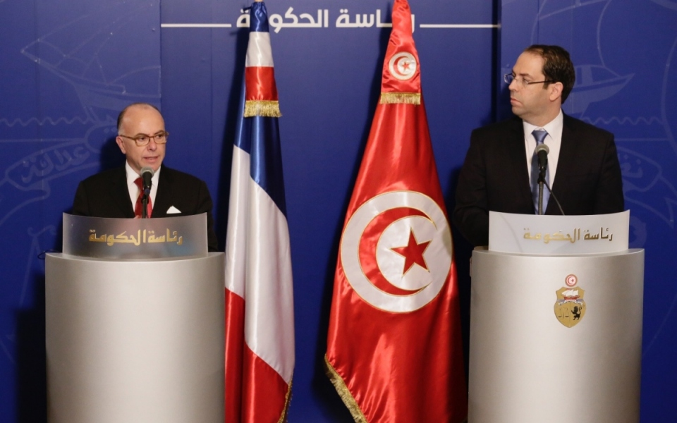 07/04 - Point presse du Premier ministre avec son homologue tunisien