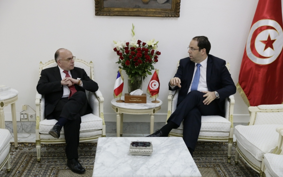07/04 - Entretien entre Bernard Cazeneuve et Youssef Chahed