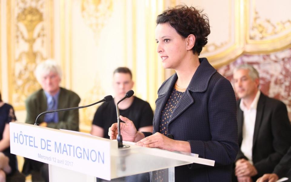 « Mot d'accueil » par la ministre Najat Vallaud-Belkacem