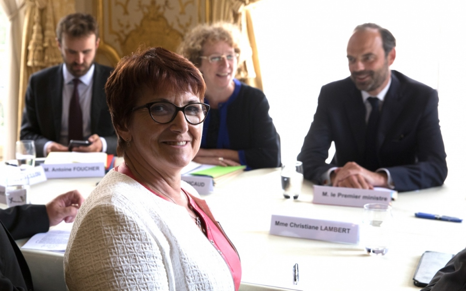Entretien avec Christiane Lambert, présidente de la FNSEA - mercredi 31 mai