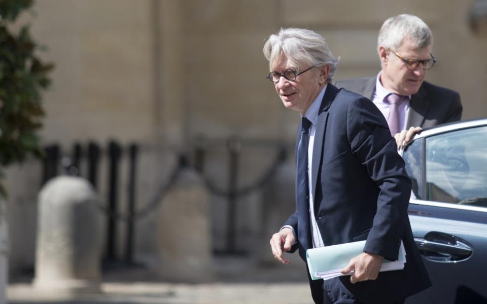 Jean-Claude Mailly, secrétaire général de FO, à Matignon - mercredi 24 mai