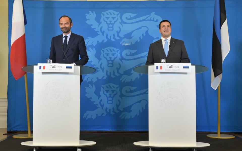 Conférence de presse conjointe des deux Premiers ministres